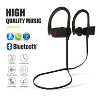 NEW Waterproof Bluetooth Earbuds Beats Sports Wireless Headphones in Ear Headset