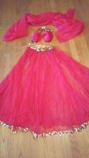 Harem Belly dancer Genie costume reenactment Halloween outfit  1x1147