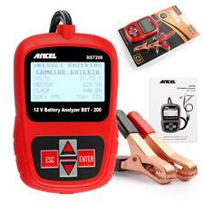 Ancel BST200 Car Battery Load Tester 12V Battery Analyzer Lead Acid AGM GEL AU