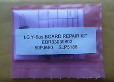 LG 50PJ650  50PJ350  50pj240 EBR63039802 EAX61319402 Y-Sus Board Repair Kit