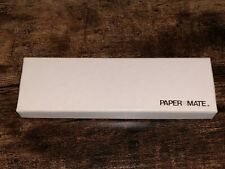 1980 Paper Mate Slim Stainless Steel & Chrome .9mm Pencil -Original Box Included