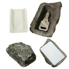 New!! Outdoor House Safe Hidden Hide Security Rock Stone Case Box for Key Hide Q