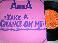 "7"" - ABBA / Take a Chance on me & I´m a Marionette - UK diff. very very rare"