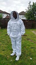 PREMIUM QUALITY Beekeeping suit beekeeper suit bee suit with fencing veil-LARGE