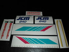 JCM Aircooled mono Trials  240 or 325 Europa Trials decal kit