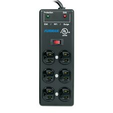 Furman SS-6B-PRO 6-Outlet Pro Surge Suppressor Power Block Strip with 15' Cord