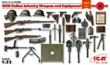 ICM 35686 - 1/35 Italian Infantry Weapon and Equipment, WWI, plastic model kit