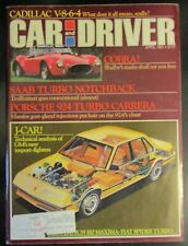 Car and Driver Magazine April 1981 Porsche 924 Turbo Saab Turbo Cadillac Cobra