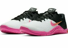 Nike Women's Metcon 4 XD Training Shoes White Black Fuchsia CD3128-100 NEW