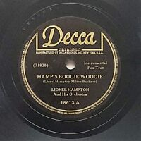 Lionel Hampton And His Orchestra, Hamp's Boogie Woogie / Chop-Chop (Decca ‎18613
