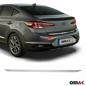 Chrome Rear Trunk Lid Tailgate Trim Stainless Fits Hyundai Elantra SD 2019-2020