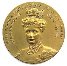 Medaille 1908 Jubiläums Mode Ausstellung, Erzherzogin Maria Josepha, Sign. Menze