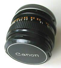 Canon FD 28mm f/2.8 S.C. Lens