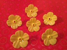 Hummingbird Feeder Replacement Flowers! 6 Yellow Flowers