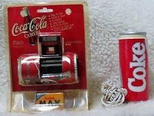 Vintage Lot Coca-Cola Coke 35MM camera NEW IN BOX + 1985 Coca Cola Can Telephone