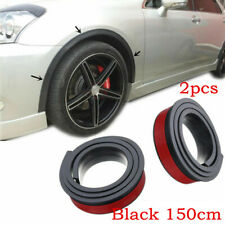2pcs 6.5cm Wide Rubber Arch Strip Car SUV Fender Flares Protector Accessories