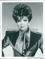 1986 Portrait of Joan Collins as Alexis Colby Original News Service Photo