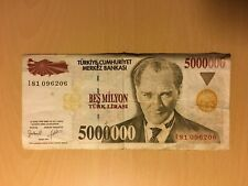 More details for turkey 5,000,000 lira banknote (1997) circulated