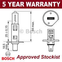 Bosch Duradero Bombilla 448 H1 12V 55W P14.5S 1987302018
