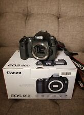 Canon EOS 60D 18MP Digital SLR Camera - Black (Body Only)