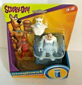 Scooby Doo Imaginext Velma and Snow Ghost Set NIB