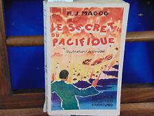 Magog Le secret du pacifique. illustrations de Claudel...