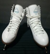 Figure Ice Skates Glacier by Jackson 520 White for Women Size 5