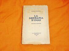 luciano magrini la germania d'oggi seconda edizione la promotrice 1926
