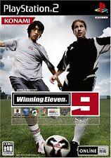 Used PS2 World Soccer Winning Eleven 9 Import Japan