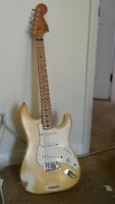 1979 Fender Stratocaster, Scalloped Neck, Olympic White Yngwie Malmsteen