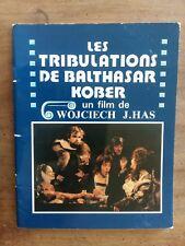 Press Release the Tribulations of Balthasar Kober Rafal Wieczynski *