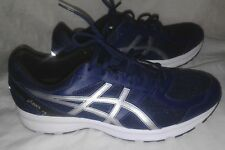 Asics Blue Silver Plymouth Running Shoe Men Size 12
