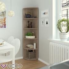 VICCO Eckregal ECKI 180 x 40 cm Eiche Sonoma - Küchenregal Badregal Wohnzimmer