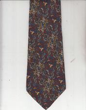 Salvatore Ferragamo-Authentic-100% Silk Tie-Made In Italy-SF9- Men's Tie