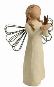 "Willow Tree Angel of Freedom Butterfly Ornament or Figurine 4"" Demdaco Sue Lordi"