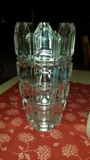 Crystal Vase by Godinger Square Lead Crystal Lovely!!