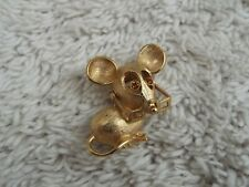 AVON Goldtone Mouse with Glasses Pin (D16)