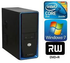 Neu Computer Komplett PC Pentium Core2Quad Q6600 4x2,40GHz 4GB 500GB Windows 7