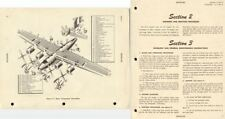 Consolidated B-32 Dominator 1940's Maintenance Archive WW2 rare detailed manual