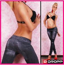 Ladies Pattern Hot Design Sexy Leggings Jeans Jeggings Stretchy Skinny Pants 012