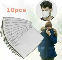 10 PCS Filter Paper Anti Dust Carbon pm2.5 Filters UK Stock Pack of 10