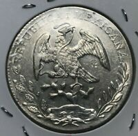 1896 Mo AM Mexico 8 Reales - Beautiful Uncirculated - With Chopmarks!