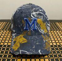 New University Of Memphis Game Day Mothwing Camo Cap/Hat.