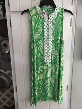 GUC Lilly Pulitzer Jane Shift Dress Toucan Green Coco Loca Size 10 Ret $168
