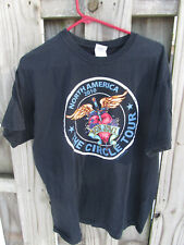 Bon Jovi 2010 North American The Circle Concert Tour Black T-Shirt XL