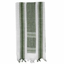 White & OD Olive Drab Green Shemagh Head Scarf Neck Wrap Shemag scarf 100%Cotton