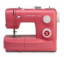 SINGER 3223R Nähmaschine Simple Halbautomatik 23 Nähprogramme Pink Dekorstich