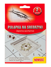 2 pcs. Silverfish Trap Innovative with bait Monitoring effecitve Easy to set