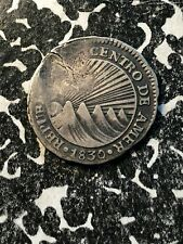 1830 Central American Republic 1 Real Lot#JM803 Silver! Very Scarce!