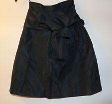 Miu Miu Paperbag Navy Skirt BNWT Size S PRP $625